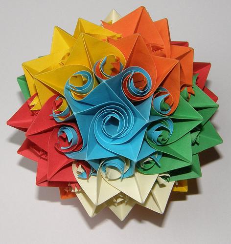 Что такокое оригами и откуда оно